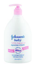 Johnson and Johnson - 500ml Cream Light Fragrance Pump Pack