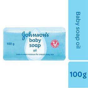 Johnson and Johnson - 100g Oil Soap