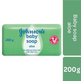 Johnson and Johnson - 200g Baby Soap Aloe