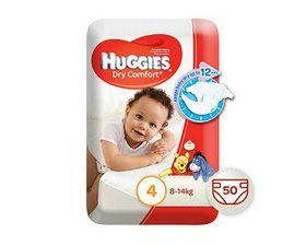Huggies - Dry Comfort - Size 4 Maxi 50
