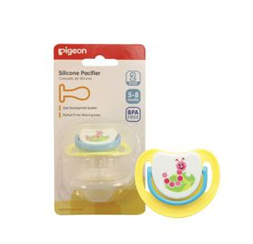 Pigeon - Silicone Pacifier Step 2 Caterpillar