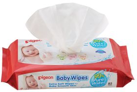 Pigeon - Baby Wipes 82'S With Chamomile Refill Pack