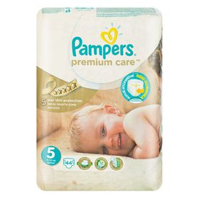 Pampers - Premium Care 44 Nappies - Size 5 Value Pack