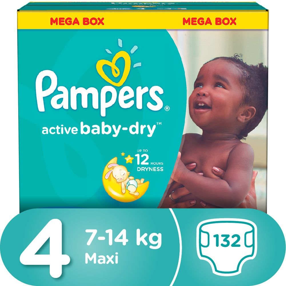 Pampers active baby 132 nappies size 4 mega pack buy online pampers active baby 132 nappies size 4 mega pack nvjuhfo Image collections
