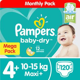 cdf07112298 Pampers Baby Dry - Size 5 Mega Pack - 111 Nappies