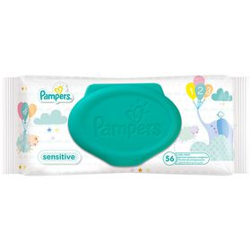 Pampers - Baby Wipes Sensitive - 1 x 56 (56 Wipes)