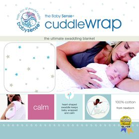 Baby Sense - Cuddlewrap - Blue