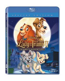 Lady and the Tramp II: Scamp's Adventure (Blu-ray)