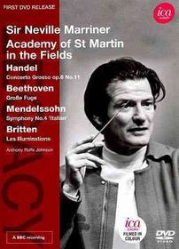 Sir Neville Marriner Conducts The Aca - (Region 1 Import DVD)