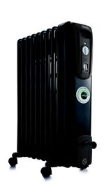 Delonghi - 9-Fin Oil Fin Heater - KH770920CB