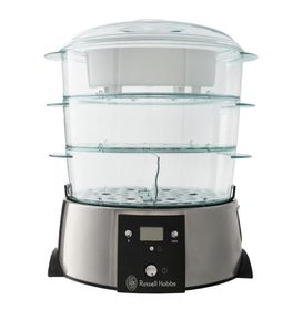 Russell Hobbs - 3 Tier Satin Quartz Food Steamer