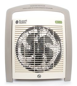 Russell Hobbs - Eco Fan Heater - White and Grey