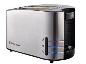 Russell Hobbs - 2 Slice Satin Toaster - Stainless Steel