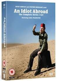 An Idiot Abroad Seasons 1 - 2 (DVD)