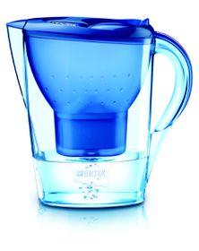 Brita - 2.4 Litre Marella Cool Water Filter Jug - Blue