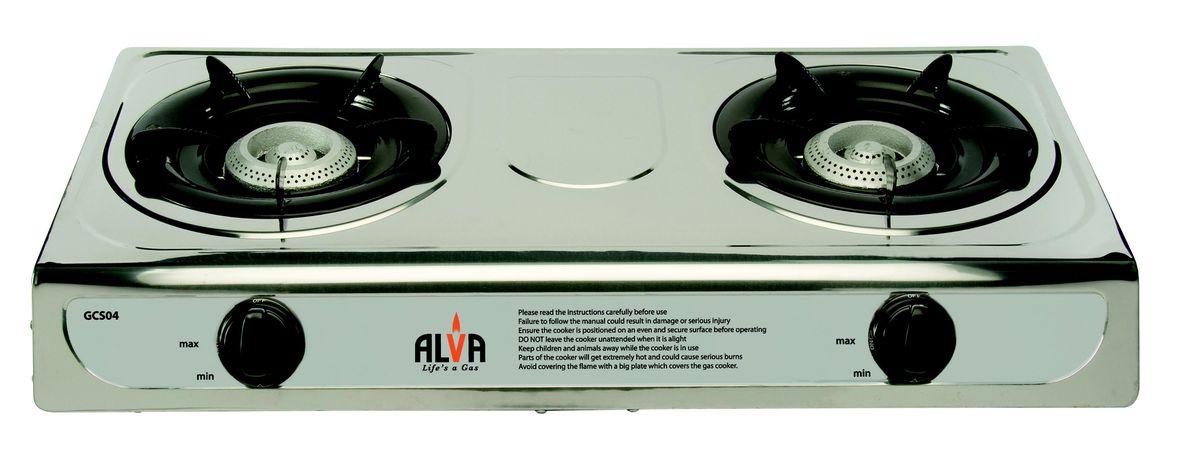 gas stove. Alva - Stainless Steel Gas Stove 2 Burner. Loading Zoom I