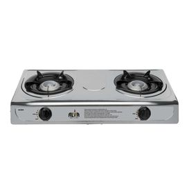 Alva - 2 Burner - Stainless Steel Gas Stove