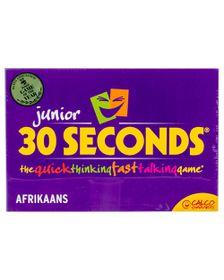 30 Seconds Junior Afrikaans Board Game