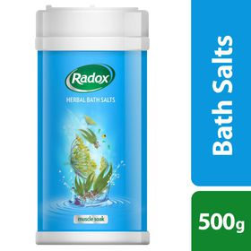 Radox - Bath Salts - Muscle Soak - 500g