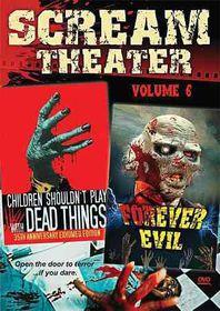 Scream Theater Double Feature Vol 6 - (Region 1 Import DVD)