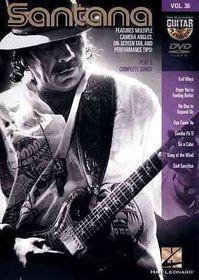 Santana:Guitar Play Along Vol 36 - (Region 1 Import DVD)