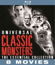 Universal Classic Monsters:Essential - (Region A Import Blu-ray Disc)