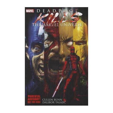 Deadpool Kills The Marvel Universe Book