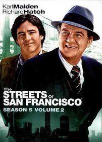 Streets of San Francisco:Season 5 V 2 - (Region 1 Import DVD)