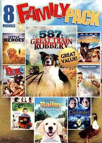 8 Movie Family Pack:Vol 2 - (Region 1 Import DVD)