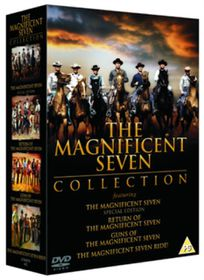 Magnificent Seven Box set - 4 Discs (parallel import)