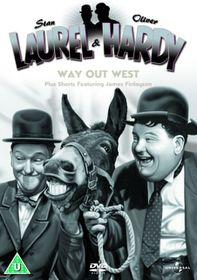 Laurel & Hardy - Way Out West (Import DVD)