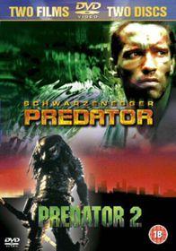 Predator 1 & 2 - (Import DVD)