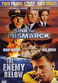 Sink The Bismarck / Enemy Below - (Import DVD)