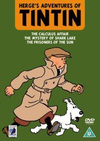 Tintin - 3 Feature Length Films - (Import DVD)