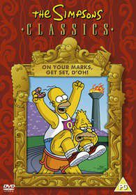 The Simpsons: On Your Marks, Get Set, D'oh! (DVD)