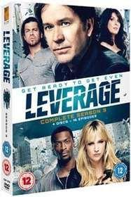 Leverage: Complete Season 3 (Import DVD)