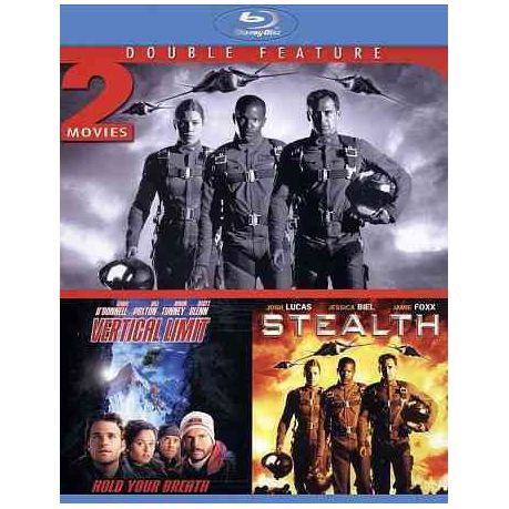 Stealth/Vertical Limit - (Region A Import Blu-ray Disc)