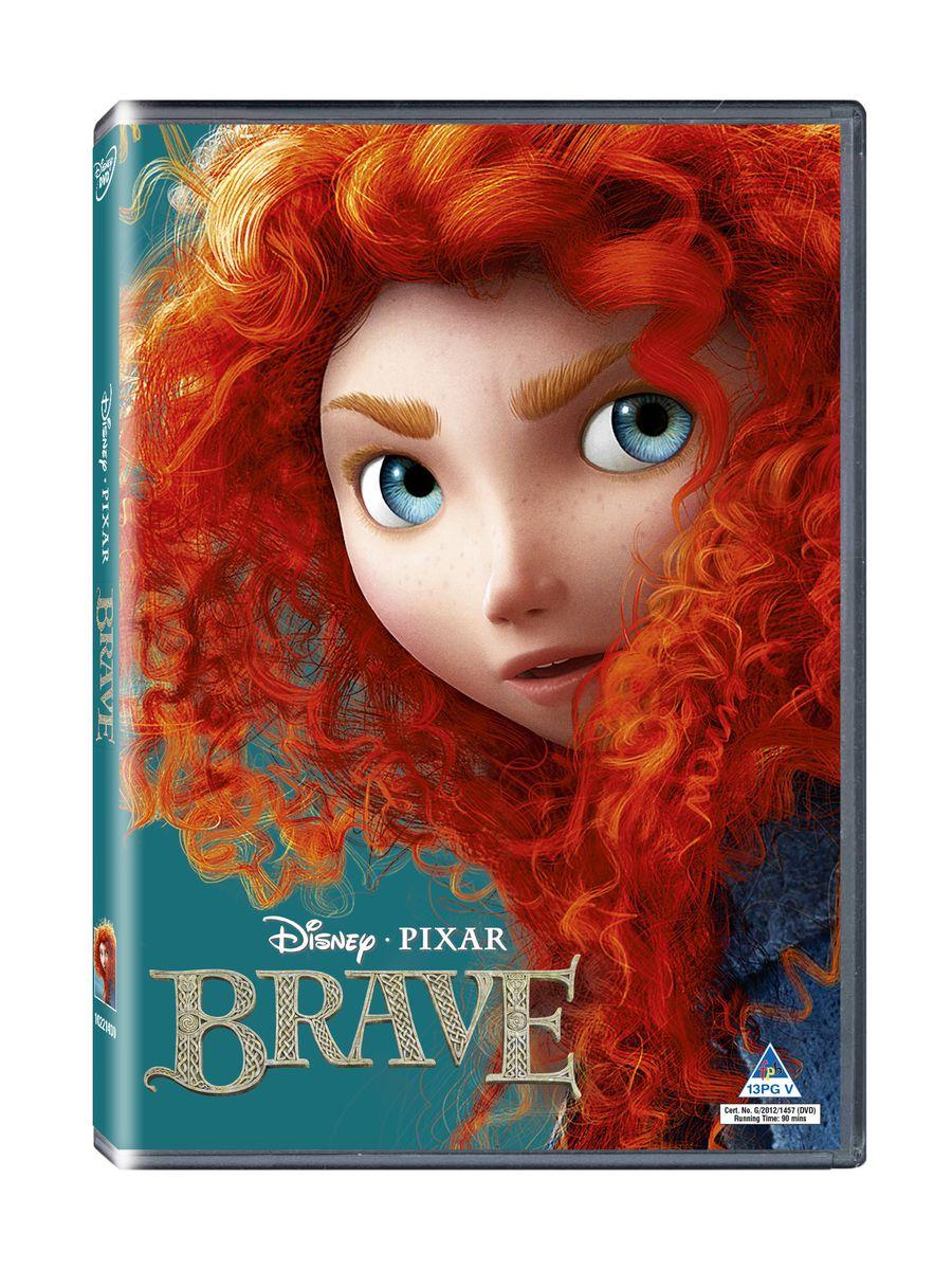 disney brave  dvd