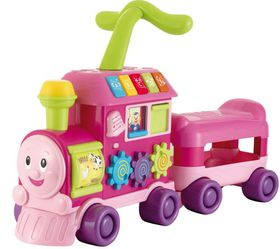 Winfun - Walker Ride-on Learning Train - Pink