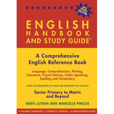 The English Handbook And Study Guide Buy Online In South Africa