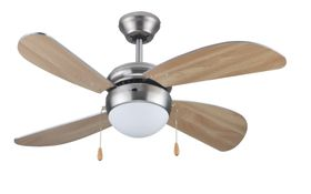 Goldair - 4 Blade 1 Light Ceiling Fan - 42 Inch - GCF-132