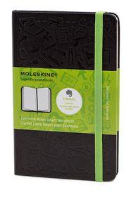Moleskine Evernote Smart Notebook Black Pocket Ruled