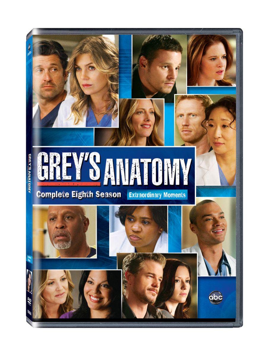 Greys Anatomy Complete Season 8 Dvd Buy Online In South Africa