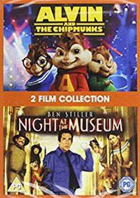 Alvin & The Chipmunks / Night At The Museum (DVD)