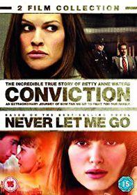 Conviction/Never Let Me Go (DVD)