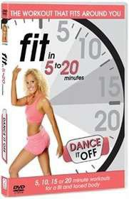 Fit In 5 To 20 Minutes: Dance It Off (Import DVD)