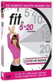 Fit In 5 To 20 Minutes: Latin Fat Buster (Import DVD)