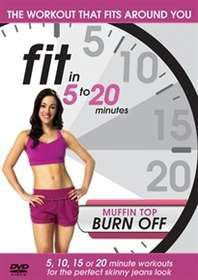Fit In 5 To 20 Minutes: Muffin Top Burn Off (Import DVD)