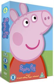 Peppa Pig: 6 Best-selling Peppa Volumes (DVD)