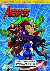 The Avengers Season 1 Volume 1-4 (DVD)